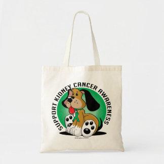Kidney Cancer Dog Tote Bag