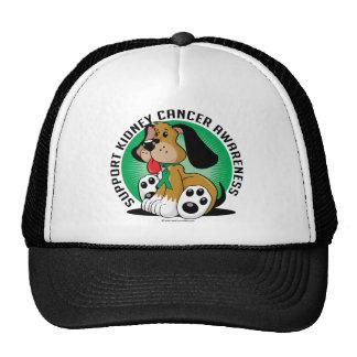 Kidney Cancer Dog Trucker Hat
