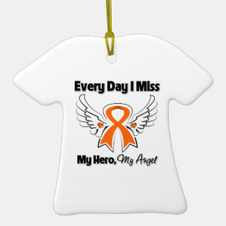 Kidney Cancer Every Day I Miss My Hero Christmas Ornaments
