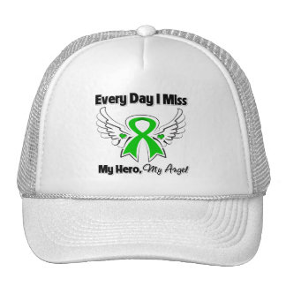 Kidney Cancer Every Day I Miss My Hero v2 Trucker Hat