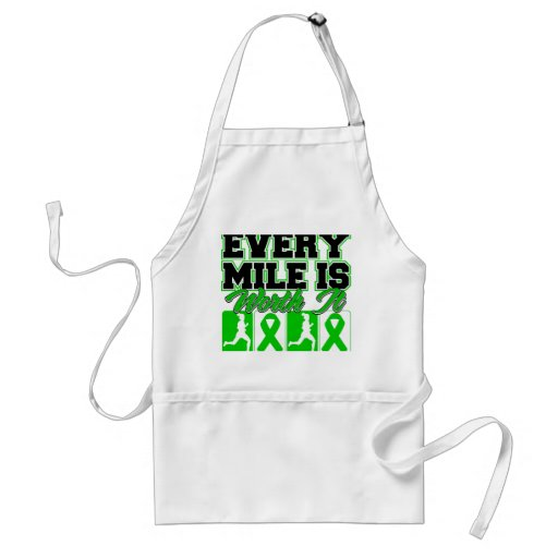 Kidney Cancer Every Mile is Worth It Adult Apron
