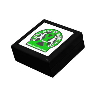 Kidney Cancer Every Mile Is Worth It Jewelry Box