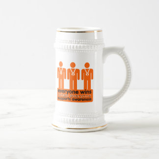 Kidney Cancer Everyone Wins With Awareness v2 Mugs