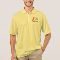 Kidney Cancer: Fight for the Cure! Polo Shirt