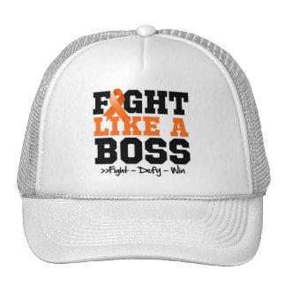 Kidney Cancer Fight Like a Boss Trucker Hat