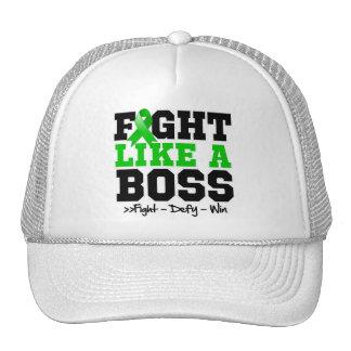Kidney Cancer Fight Like Boss v2 Trucker Hat