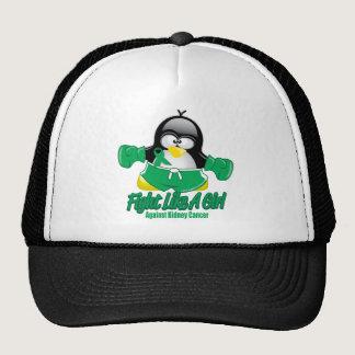 Kidney Cancer Fighting Penguin Trucker Hat