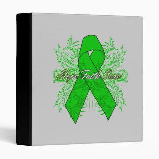 Kidney Cancer Flourish Hope Faith Cure v2 Binder