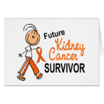 Kidney Cancer Future Survivor SFT Greeting Cards