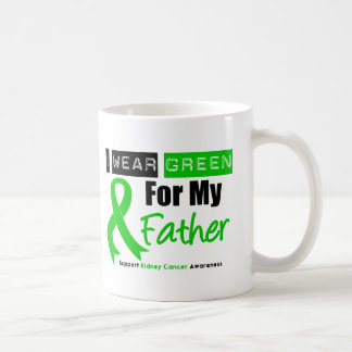 Kidney Cancer Green Ribbon For My Father Mug