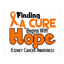 Kidney Cancer HOPE 5 Postcard