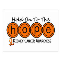 Kidney Cancer HOPE 6 Postcard