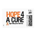 Kidney Cancer HOPE FOR A CURE Postage