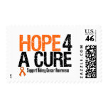 Kidney Cancer HOPE FOR A CURE Postage Stamp