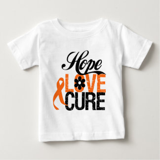 Kidney Cancer HOPE LOVE CURE Gifts T-shirts