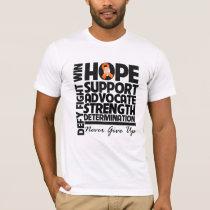 Kidney Cancer Hope Support Advocate v2 T-Shirt