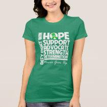 Kidney Cancer Hope Support Strength T-Shirt