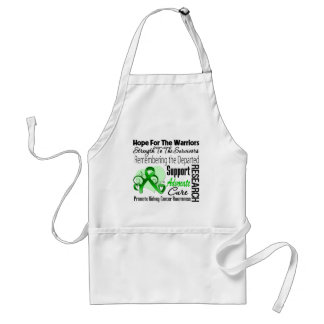 Kidney Cancer Hope Tribute Collage Apron