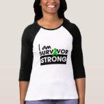 Kidney Cancer I am Survivor Strong v2 Tshirt