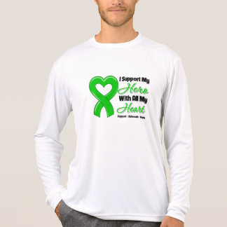 Kidney Cancer I Support My Hero With All My Heart T-shirt