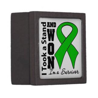 Kidney Cancer I Took a Stand and Won v2 Premium Keepsake Box