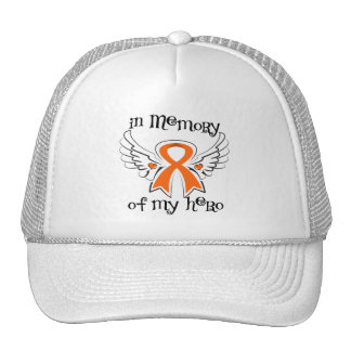 Kidney Cancer In Memory of My Hero 2 Trucker Hat