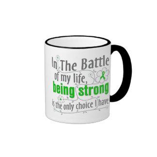 Kidney Cancer In The Battle Ringer Coffee Mug