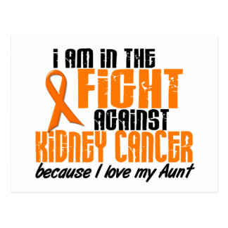 KIDNEY CANCER In The Fight For My Aunt 1 Postcard