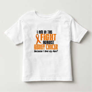 KIDNEY CANCER In The Fight For My Aunt 1 Toddler T-shirt