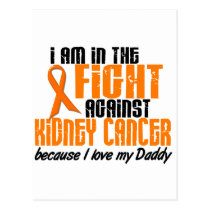 KIDNEY CANCER In The Fight For My Daddy 1 Postcard