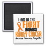 KIDNEY CANCER In The Fight For My Daughter 1 Refrigerator Magnets