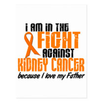 KIDNEY CANCER In The Fight For My Father 1 Postcard