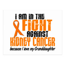 KIDNEY CANCER In The Fight For My Granddaughter 1 Postcard