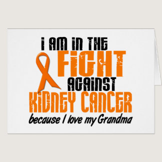 KIDNEY CANCER In The Fight For My Grandma 1 Card