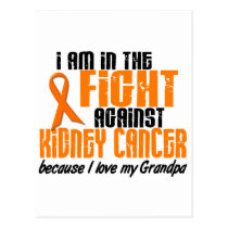 KIDNEY CANCER In The Fight For My Grandpa 1 Postcard
