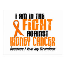 KIDNEY CANCER In The Fight For My Grandson 1 Postcard