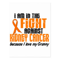 KIDNEY CANCER In The Fight For My Granny 1 Postcard