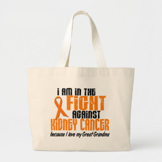 KIDNEY CANCER In The Fight For My Great Grandma 1 Large Tote Bag