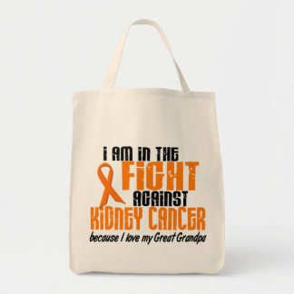 KIDNEY CANCER In The Fight For My Great Grandpa 1 Grocery Tote Bag