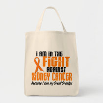 KIDNEY CANCER In The Fight For My Great Grandpa 1 Tote Bag