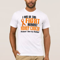 KIDNEY CANCER In The Fight For My Husband 1 T-Shirt