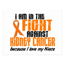 KIDNEY CANCER In The Fight For My Niece 1 Postcard