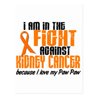 KIDNEY CANCER In The Fight For My Paw Paw 1 Postcard