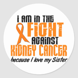 KIDNEY CANCER In The Fight For My Sister 1 Classic Round Sticker