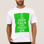 Kidney Cancer Keep Calm and Fight On T Shirt
