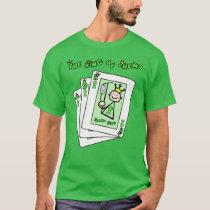 Kidney Cancer King of Chemo Green Ribbon T-Shirt