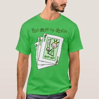 Kidney Cancer King of Chemo Green Ribbon T-Shirt