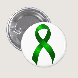 Kidney Cancer | Liver Cancer | Green Ribbon Button
