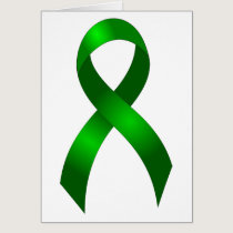 Kidney Cancer | Liver Cancer | Green Ribbon Card