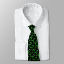 Kidney Cancer | Liver Cancer | Green Ribbon Tie